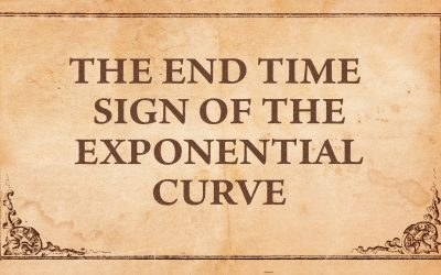 The End Time Sign of the Exponential Curve
